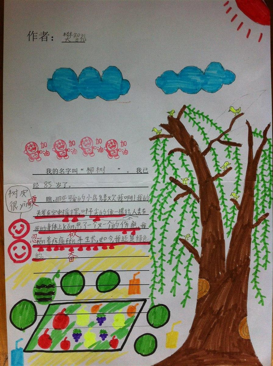 """观察日记(一)""""熟悉的树"""""""