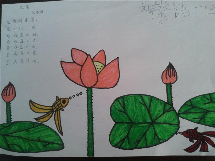 诗词小学生简笔画