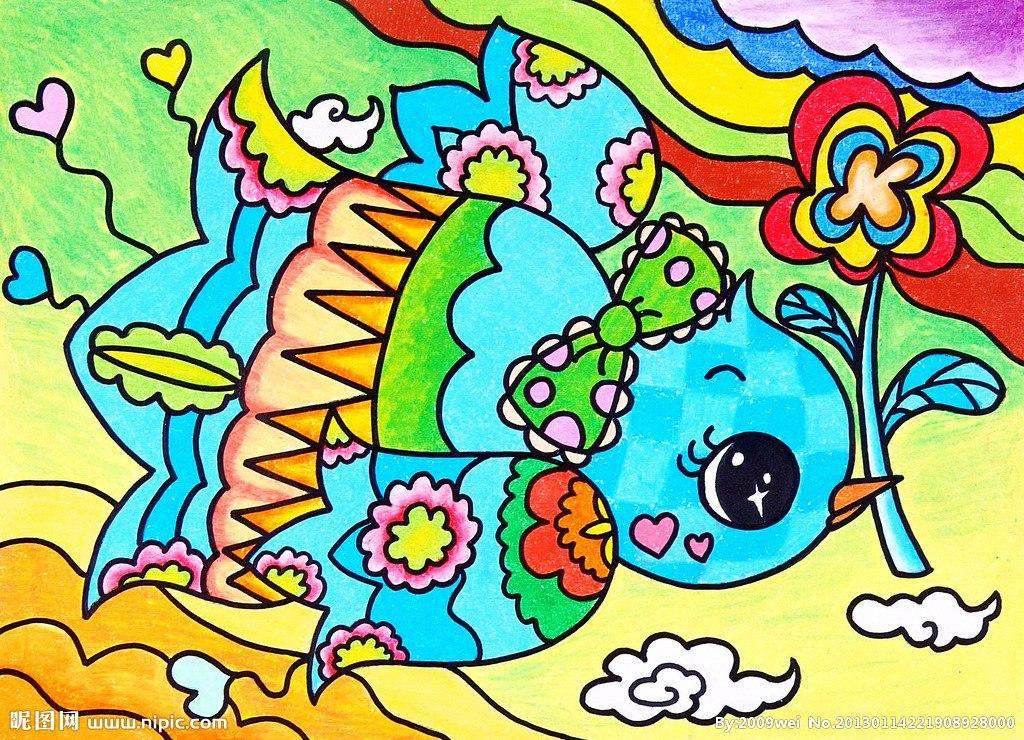 可可简笔画 绘画作品幼儿园幼儿美术绘画作品儿童画-简笔画作品 蜻蜓