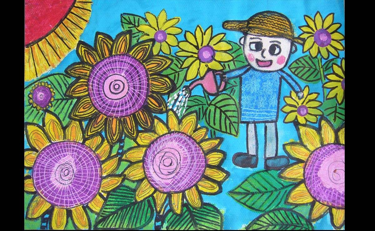 漂亮的儿童画