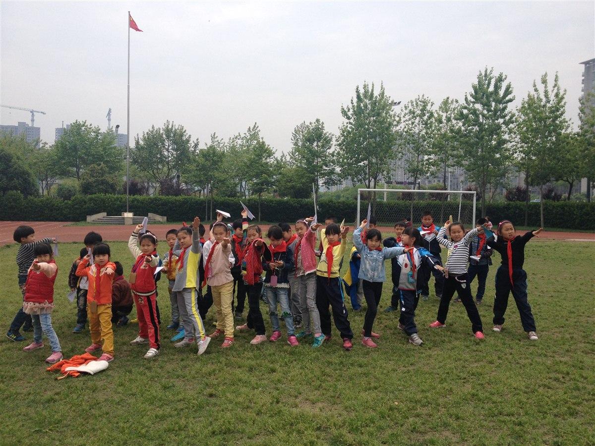 折纸飞机比赛 向日葵-班级博客
