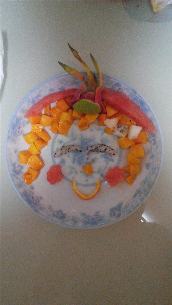 水果拼盘制作步骤