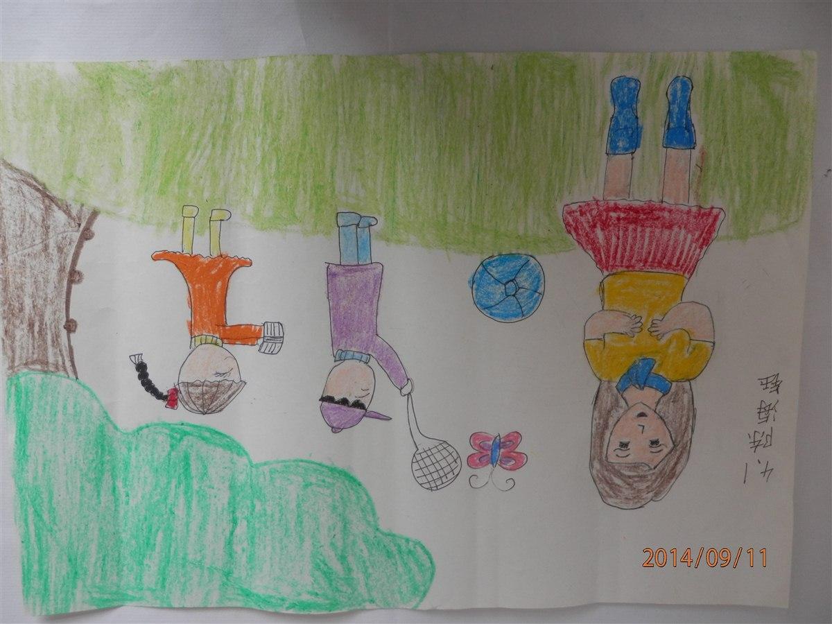 获奖儿童简笔画风景内容图片展示_获奖儿童简笔画