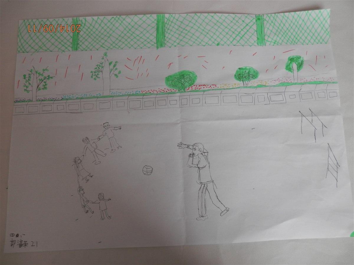 我心中的好老师 绘画作品图片
