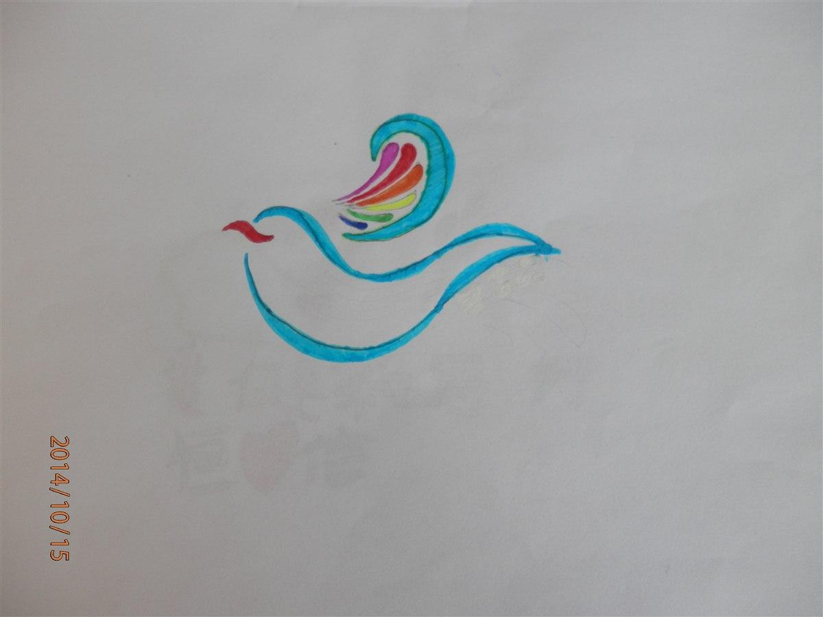 学生设计的班旗