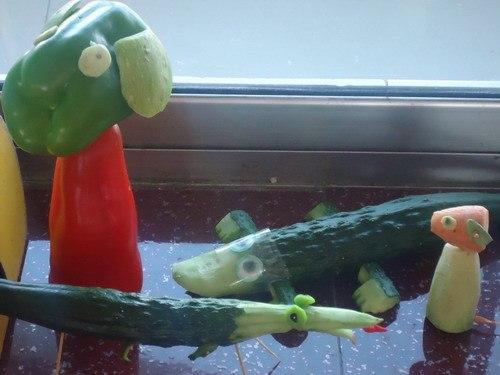 水果蔬菜大变样 大三班-班级博客