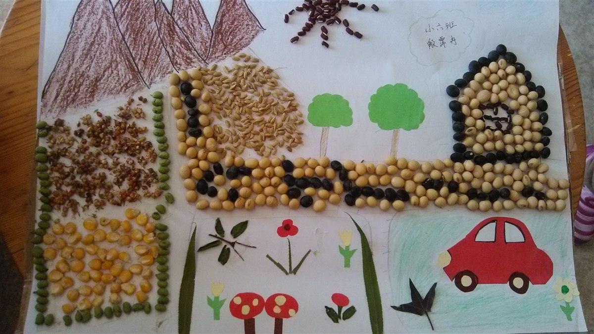 亲子作品展示 小六班-张家港市南沙幼儿园