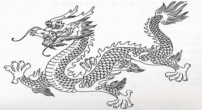 缙云县小学美术课堂教学观摩与研讨活动中《中国龙》图片