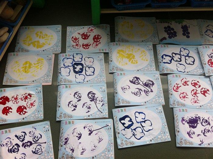 美术活动:蔬菜印画 -张家港市泗港幼儿园